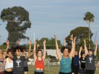 RUHS Yoga Club Raises Money for Refugees with 108 Sun Salutations